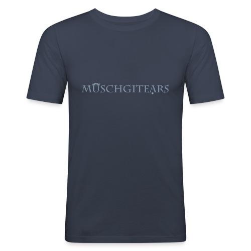 Muschgitears navy logo - Slim Fit T-shirt herr