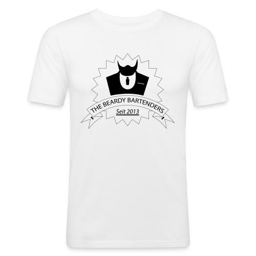 BeardyBartenders Original - T-Shirt - Männer Slim Fit T-Shirt