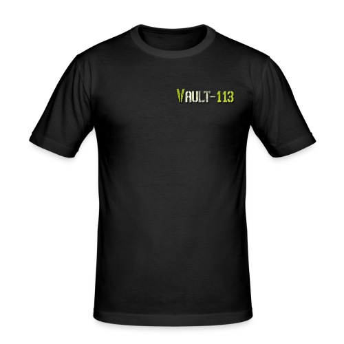 """Citizen of Vault-113"" Slim Fit Shirt - Männer Slim Fit T-Shirt"