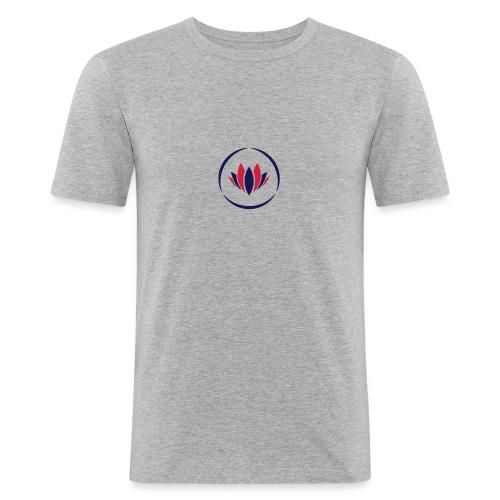KamKu Slimfit - Männer Slim Fit T-Shirt