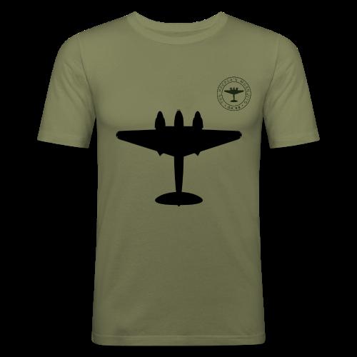 Mosquito Silhouette Slim-Fit T-Shirt - Khaki - Men's Slim Fit T-Shirt