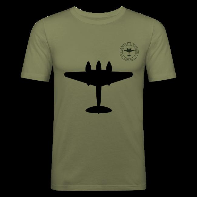 Mosquito Silhouette Slim-Fit T-Shirt - Khaki