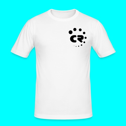 CR black white - Men's Slim Fit T-Shirt