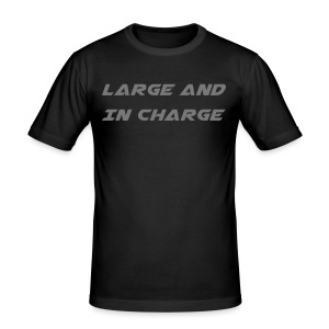 Large And In Charge - Slim Fit T-shirt herr