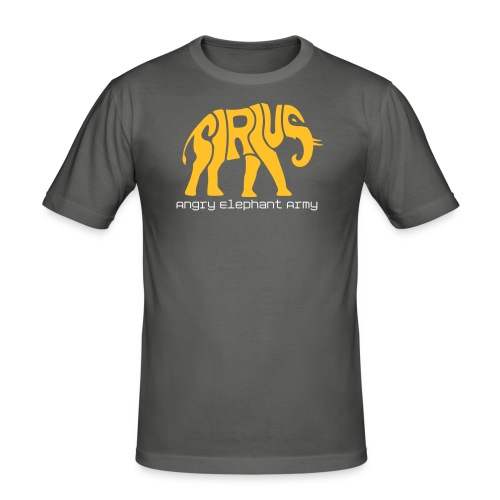 SiriuS Elephant - Männer Slim Fit T-Shirt
