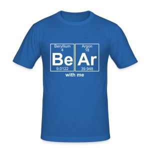 Bear with me - Men's Slim Fit T-Shirt