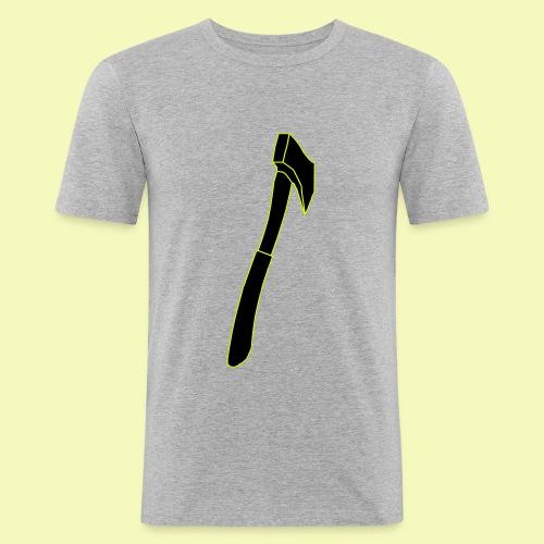 """T-Shirt """"Schwarz-Gelbe Axt"""" - Männer Slim Fit T-Shirt"""