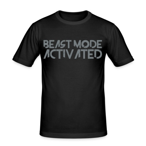 Beast Mode Activated - Slim Fit T-shirt herr