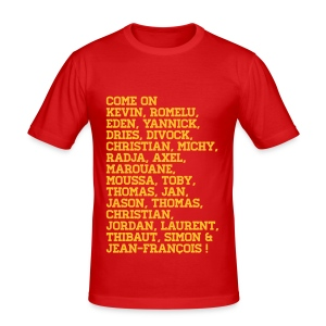Support the Belgian Team! - slim fit T-shirt