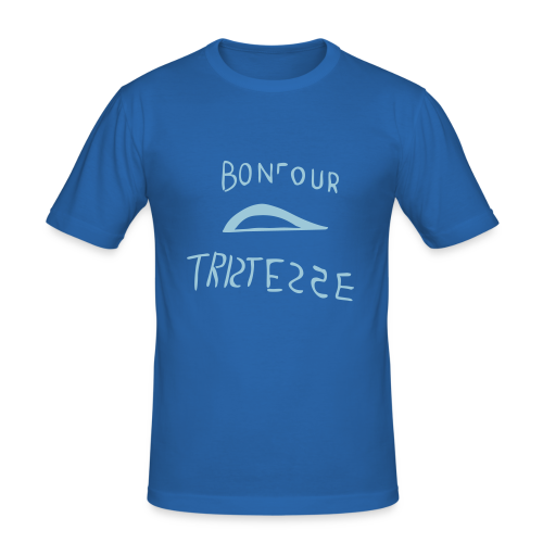 BONJOUR TRISTESSE - Männer Slim Fit T-Shirt