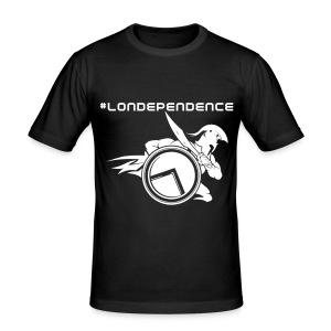 Londependence T-Shirt - Men's Slim Fit T-Shirt