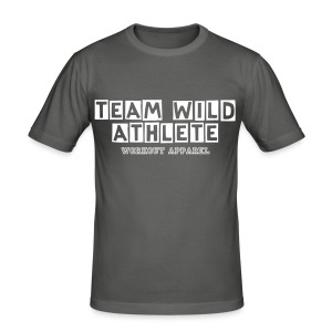 team wild athlete workout apparel - Men's Slim Fit T-Shirt