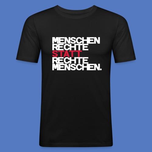 Slimfit T-Shirt - Rechte statt Rechte W/R - Männer Slim Fit T-Shirt