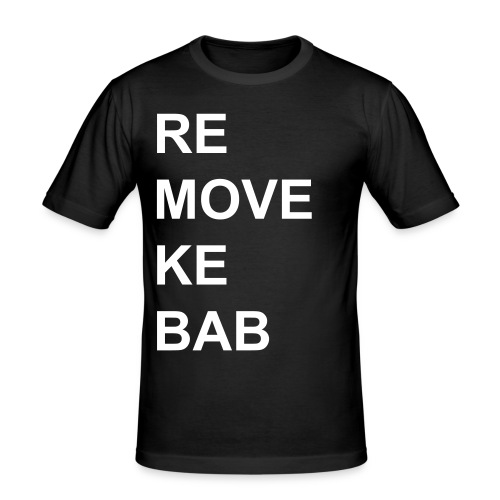Remove Kebab - Slim Fit T-shirt herr
