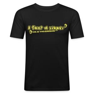 FP I font a sloper Slim fit shirt (Men) - Men's Slim Fit T-Shirt