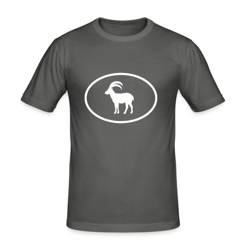 Don't try, flow - Steinbock - Männer Slim Fit T-Shirt