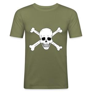 Totenschädel 2 - Männer Slim Fit T-Shirt