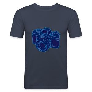 Fotoapparat 2 - Männer Slim Fit T-Shirt