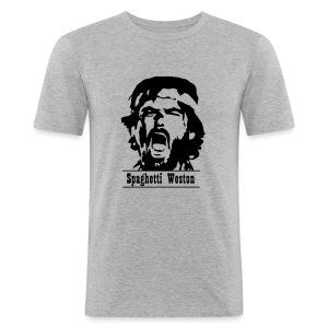 SW_Logo - Men's Slim Fit T-Shirt