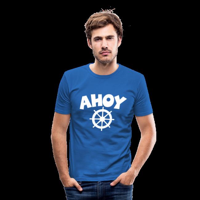 AHOY Wheel Slim Fit  T-Shirt