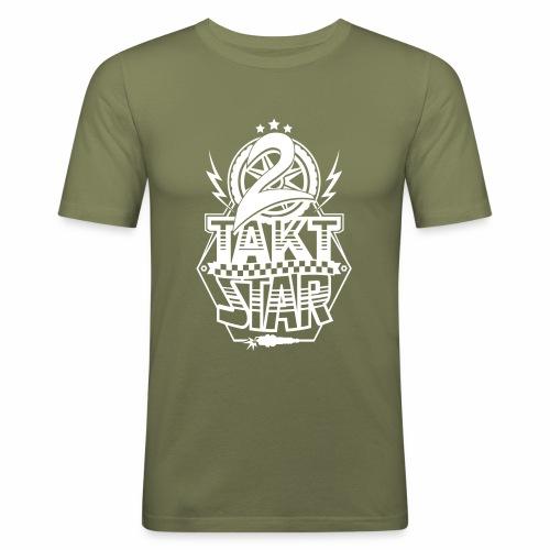 2-Takt-Star / Zweitakt-Star - Men's Slim Fit T-Shirt