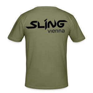 open for everything - Männer Slim Fit T-Shirt