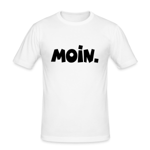 Moin. Slim Fit T-Shirt - Männer Slim Fit T-Shirt