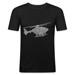 Hubschrauber 2 - Männer Slim Fit T-Shirt