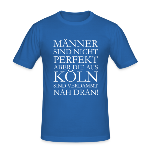Männer aus Köln Slim Fit T-Shirt - Männer Slim Fit T-Shirt