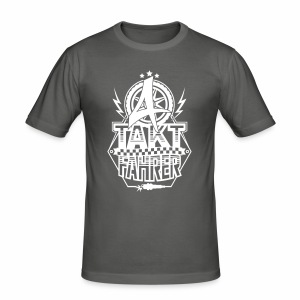 4-Takt-Fahrer / Viertaktfahrer - Männer Slim Fit T-Shirt