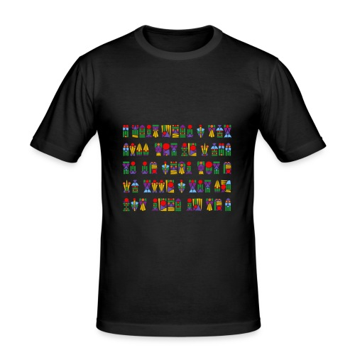Chistes para enganar a dios (color) - Männer Slim Fit T-Shirt