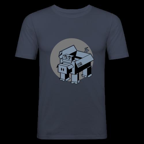 Faltschachtel Ferkel - Männer Slim Fit T-Shirt