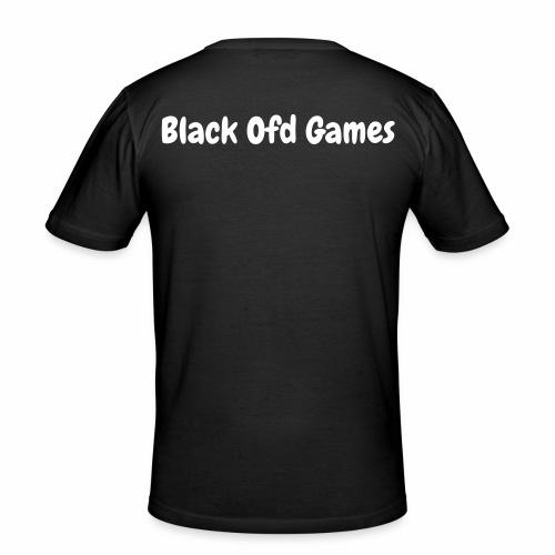 Black Ofd Games T-Shirt Mannen - slim fit T-shirt