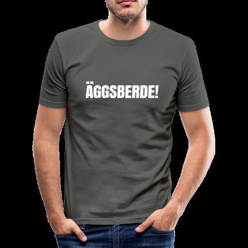 Äggsberde-Weldniwoo - Männer Slim Fit T-Shirt