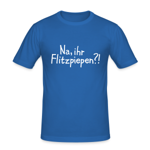 Flitzpiepen Berlin Slim Fit T-Shirt - Männer Slim Fit T-Shirt