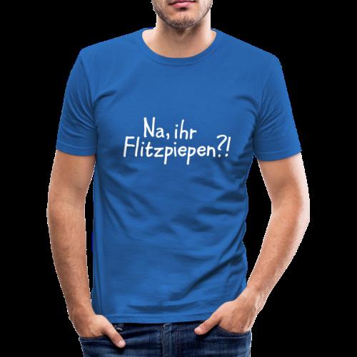 Flitzpiepen Berlin Slim Fit T-Shirt - Männer Slim Fit T-Shirt