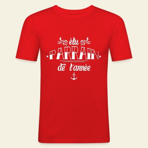 Elu Parrain de l'Année - T-shirt près du corps Homme
