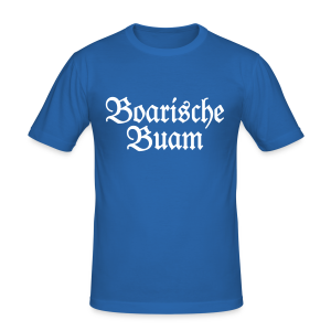 Boarische Buam Bayern Slim Fit T-Shirt - Männer Slim Fit T-Shirt