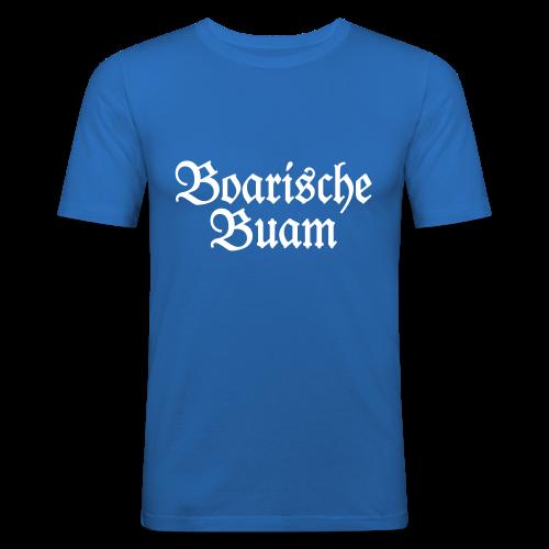 Boarische Buam Bayern Slim Fit T-Shirt - Männer Slim Fit T-Shirt