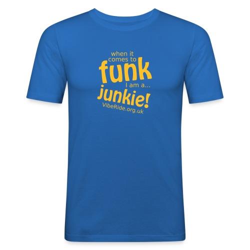 Funk Junkie Mens T-shirt - Men's Slim Fit T-Shirt