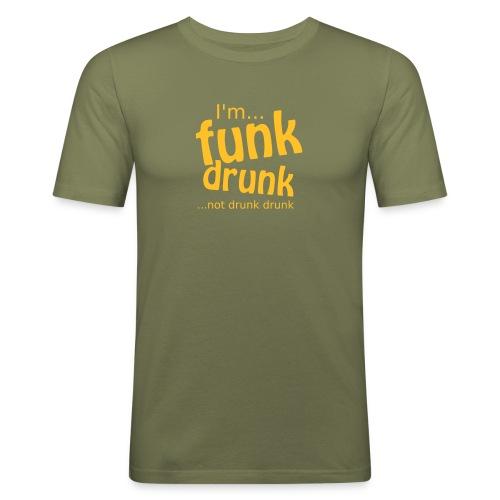 Funk Drunk Mens T-Shirt - Men's Slim Fit T-Shirt