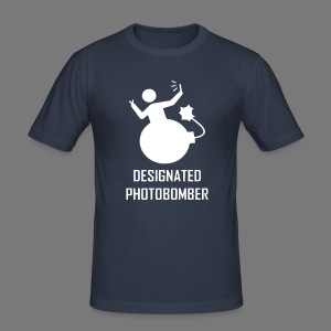 Photobomber (reflective) - Men's Slim Fit T-Shirt