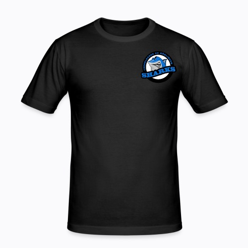 "Sharks Cheerleader Böblingen Männer T-Shirt ""Slim-Fit"" - Männer Slim Fit T-Shirt"