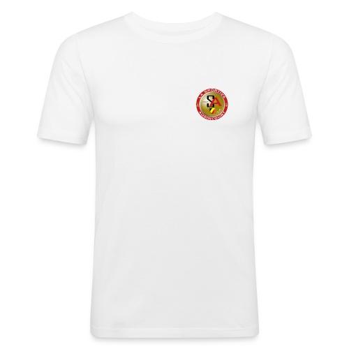 T-shirt moulant blanc La Sportive Gym Audincourt - T-shirt près du corps Homme