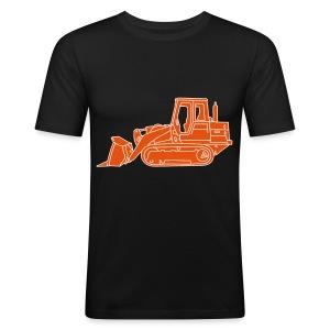 Bulldozer Planierraube 2 - Männer Slim Fit T-Shirt