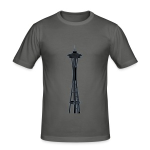 Space Needle in Seattle 2 - Männer Slim Fit T-Shirt
