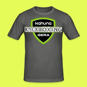 K1CKBOXING ALI Remember - Männer Slim Fit T-Shirt