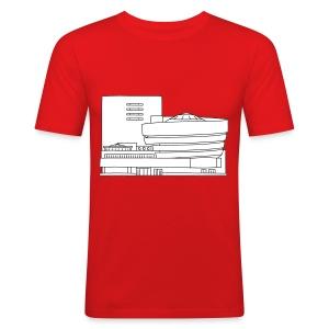 Guggenheim Museum New York 2 - Männer Slim Fit T-Shirt