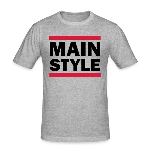 MAINSTYLE RUNDMCLook - Männer Slim Fit T-Shirt