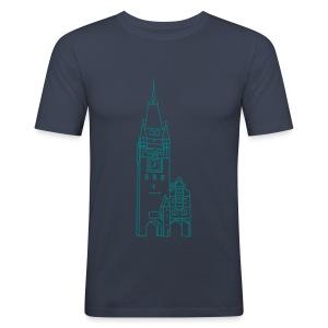 Martinstor Freiburg - Männer Slim Fit T-Shirt
